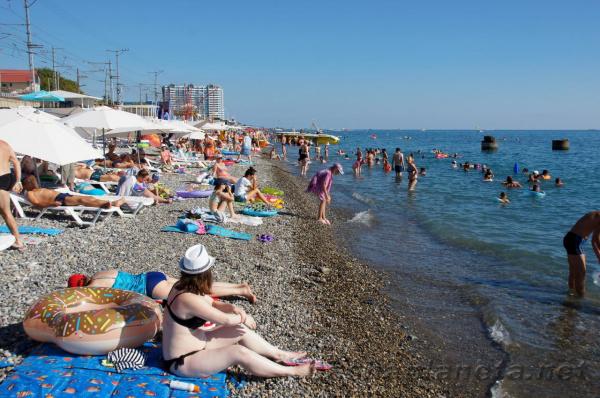 Путеводитель по пляжам в Лазаревском