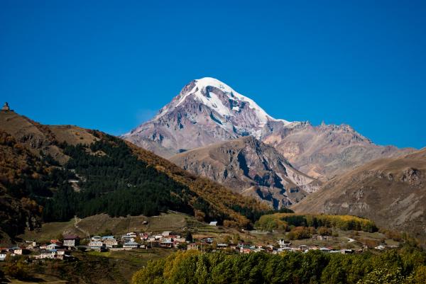 Покоряем гору Казбек